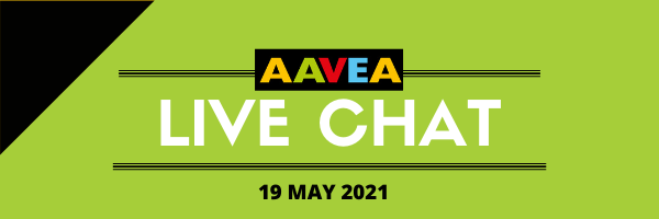 Join us at our #AAVEA2021 May Live Chat!