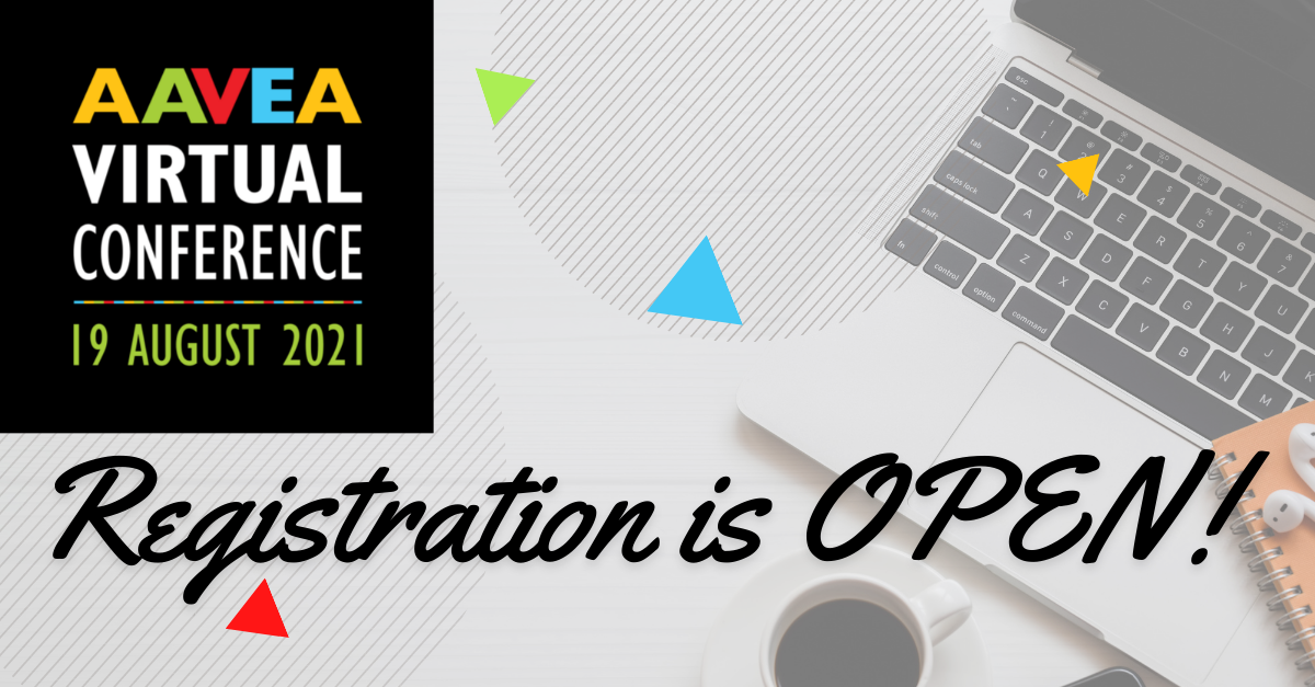 Registration for our #AAVEA2021 virtual conference is now open!